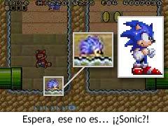 Super Mario Bros. 3 - Sonic en el juego
