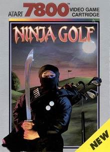 Ninja Golf - Carátula