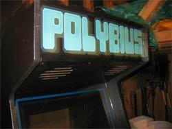 Polybius - Cabina de arcade