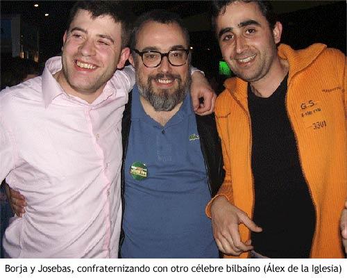 QVMT - Borja y Josebas con Alex de la Iglesia