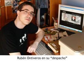 Entrevista a Rubén Ontiveros, director de 'Quevidamastriste'