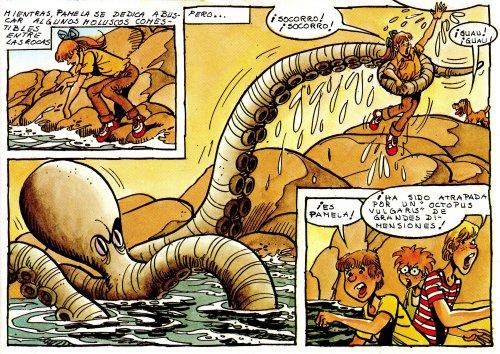 Tú vives la aventura - ¡El pulpo gigante!