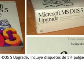 Promoción de MS-DOS 5 Upgrade