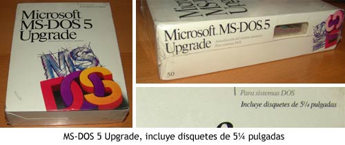 MS-DOS 5 Upgrade