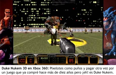 Xbox 360 - Duke Nukem 3D en Xbox Live Arcade
