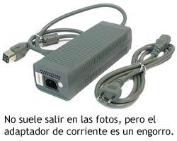 Xbox 360 - Adaptador de corriente