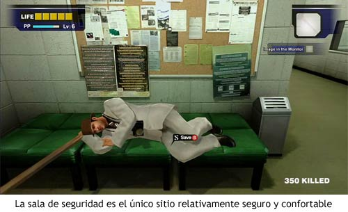 Dead Rising - Sala de seguridad
