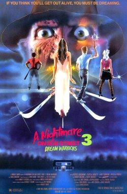 Pesadilla en Elm Street 3 - Póster