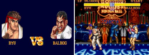 Los jefes de 'SFII' - Ryu Vs. Balrog