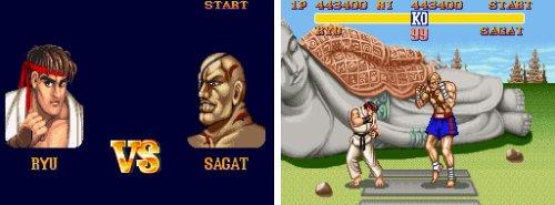Los jefes de 'SFII' - Ryu Vs. Sagat