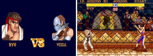 Los jefes de 'SFII' - Ryu Vs. Vega