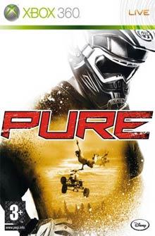 Pure - Carátula de la versión de Xbox 360