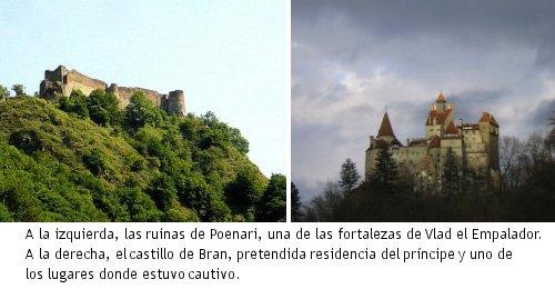 Vampiros en la Historia - Los castillos de Drácula
