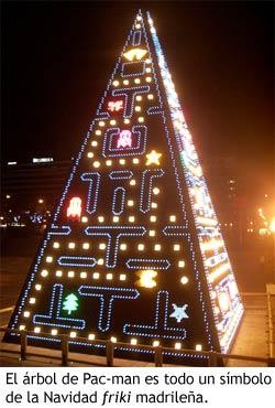Árbol de Navidad - Pac-Man