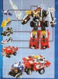 Catálogo de juguetes - Drivemax Megazord