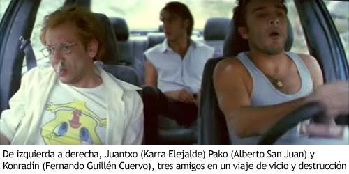 Airbag - Tres amigos en un viaje de vicio y destrucción