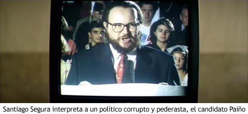 Airbag - Santiago Segura interpreta al candidato Paiño