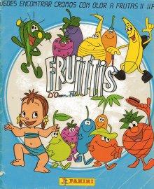 Los cromos de Los Fruittis - Portada del álbum