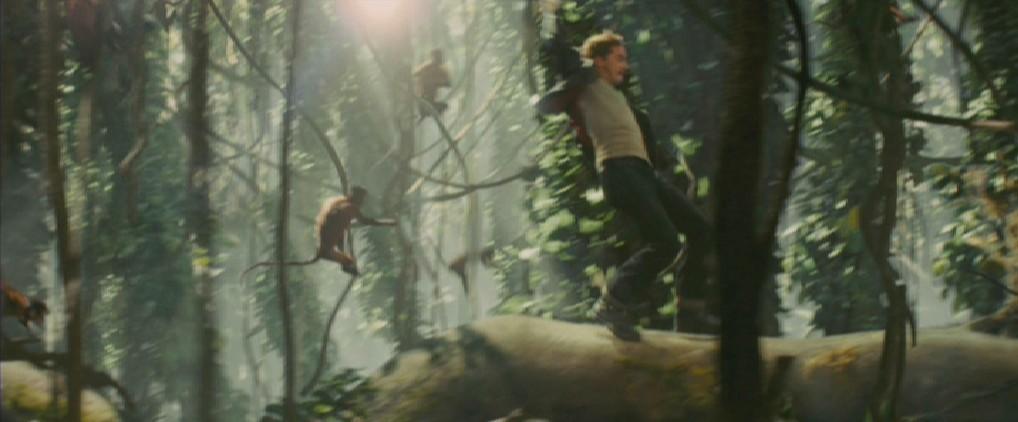 Indiana Jones IV - Mutt es Tarzán de los Monos