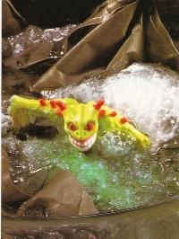 Los Guerreros de la Basura - ¡La bolsa se deshace en el agua!
