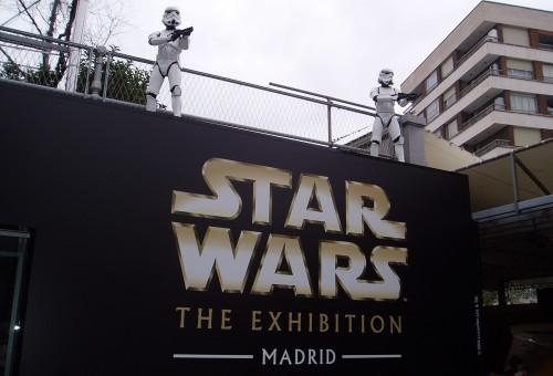 Star Wars: The Exhibition - La entrada al centro