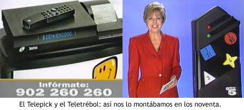 Telepick y Teletrébol