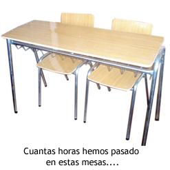 Compañero Clase - Pupitre
