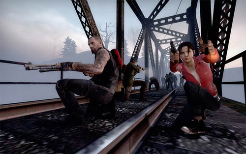 Left 4 Dead - Defendiendo el puente