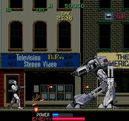 Robocop - Screenshot del videojuego