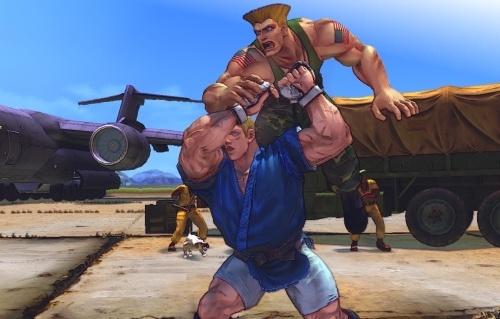 Street Fighter IV - Abel vs. Guile