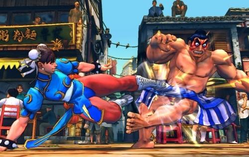 Street Fighter IV - Chun-Li vs. Honda