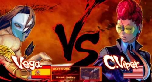 Street Fighter IV - Vega vs. C. Viper
