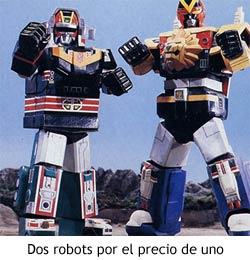 Bioman - Robots