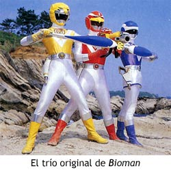 Bioman - Trío original