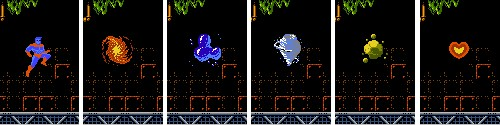Capitán Planeta (NES) - El Capitán y sus poderes