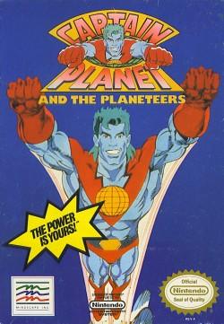 Capitán Planeta (NES) - Carátula