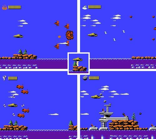 Capitán Planeta (NES) - A bordo del Geo-Cruiser