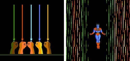 Capitán Planeta (NES) - Por la unión de vuestros poderes...