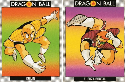 Cromos Dragon Ball - Krilin y Cream