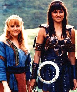 Mis chicas de la tele - Xena y Gabrielle
