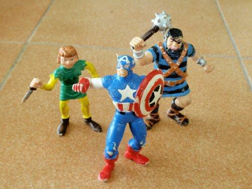 Muñecos de goma - El Capitán Trueno