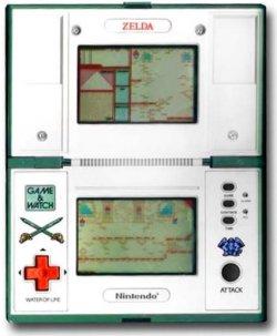 Zelda Game & Watch - Doble pantalla
