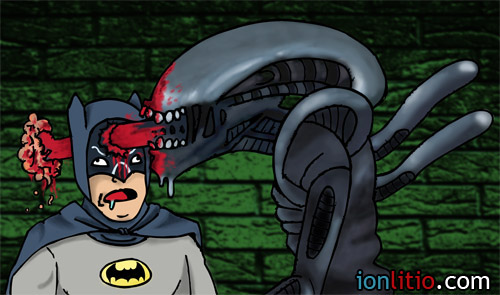 Batman Aliens - ¿Y si...?