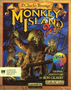 Monkey Island 2 - Carátula