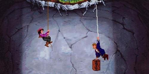 Monkey Island 2 - Colgado