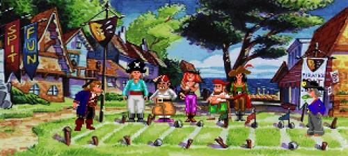 Monkey Island 2 - Concurso de escupitajos