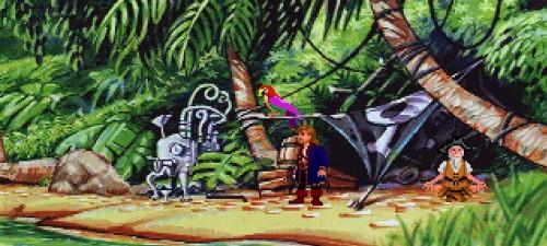 Monkey Island 2 - La isla Dinky