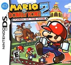 Pauline - Mario vs. Donkey Kong 2, carátula