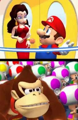 Pauline - Mario vs. Donkey Kong 2, inauguración