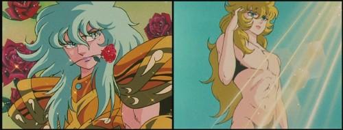 Caballeros del Zodíaco - Afrodita y Misty